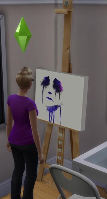Sadness painting