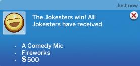 Ch11 Jokesters win